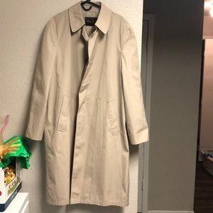 Botany 500 40 long trench coat